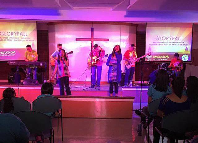 worship leading gloryfall